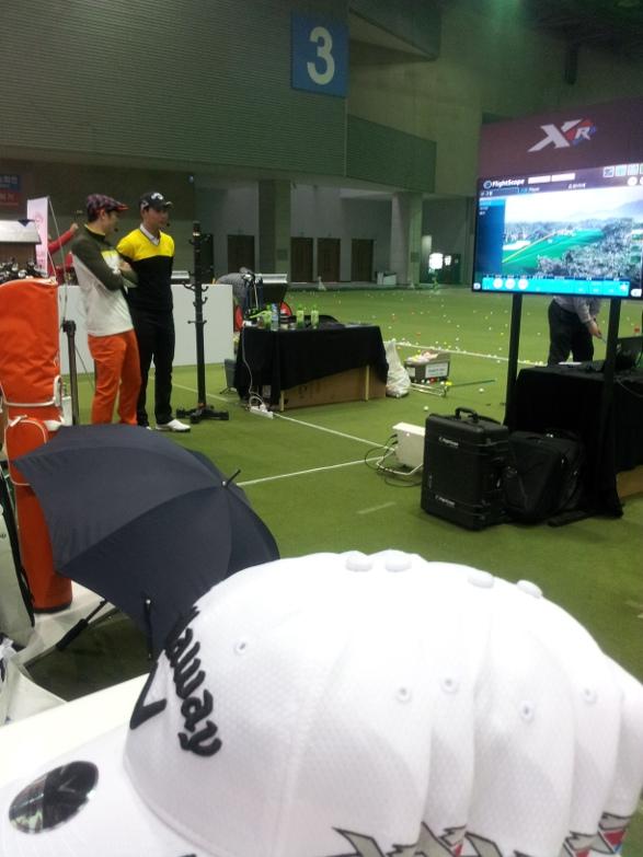 Korea Golf Fair 2015 - Launch Monitor, Golf Ball Tracking   Golf