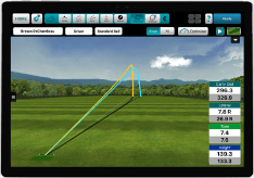 Display of FlightScope Enviromental Optimizer in our application.