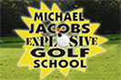 Photo promoting FlightScope ambassador's Michael Jacobs Explosive Golf Show