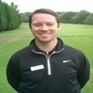 Photo of Joe Fleetwood of Parklands Golf Complex which uses a FlightSscope golf launch monitor for club fitting.