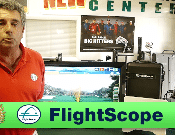 Photo of Richard Conragan explaining why FlightScope golf launch monitors are the best.