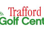 Logo of Trafford Golf Centre which uses a FlightScope launch monitor / golf ball tracker at their facility.