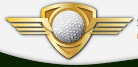 Logo of Driving Mastery School which uses a FlightScope golf launch monitor at their facility.