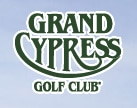 Logo of Grand Cypress Golf Club which uses a FlightScope golf launch monitor for club fitting.