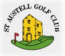 Logo of Staustel Golf Club which uses a FlightScope golf launch monitor / golf ball tracker for club fitting.