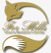 Logo of Fox Hills Learning Center which uses a FlightScope golf launch monitor for golf coaching.
