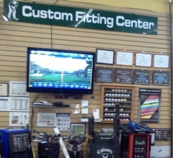 Photo of Golf Discount of St. Louis which allow users to test FlightScope golf launch monitor units.