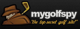 Logo of MyGolfSpy whose game stats were collected by a FlightScope golf launch monitor.