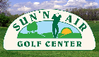 Logo of Sun 'n Air Golf Center which uses FlightScope launch monitors / golf ball trackers for club fitting and golf lessons.