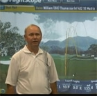 Bill Thomasson talking about his experience using a FlightScope golf launch monitor for club fitting.