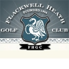 Logo of Flackwell Health Golf Club which uses FlightScope launch monitors / golf ball trackers for club fitting.