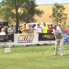 Photo from the Time Warner Long Drive Championship where a FlightScope launch monitor was used to determine the outcome.
