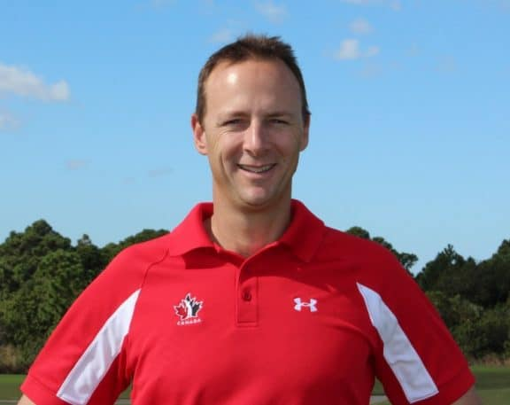 Canada's Men's Team Head Coach Derek Ingram talks about how his FlightScope X2 launch monitor aid him in golf coaching.