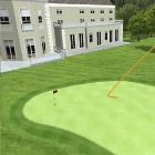 Photo of Burhill Golf Club where a FlightScope launch monitor was used for electronic golf ball tracking.
