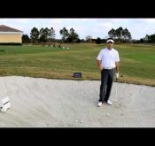 Photo of Top Golf Instructor and FlightScope X2 golf launch monitor user Mitchell Spearman explaining how to set it up.