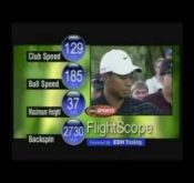 Photo from the 2004 Battle of the Bridges where FlightScope's 3D Doppler tracking radar was used to directly measure ball spin for the first time