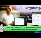 Richard Conragan discusses the club analysis table in the FlightScope software.