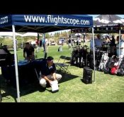 Photo of the FlightScope Prime being exhibited at the PGA Fall Expo 2010