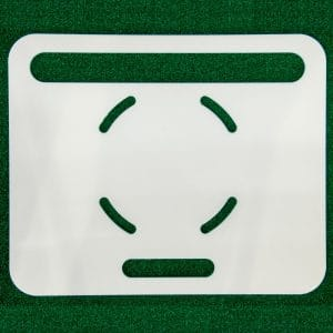 Product photo showing base plates from the FlightScope Store.