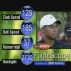 Photo from the 2004 Battle at the Bridges where FlightScope's 3D Doppler tracking radar was used to directly measure ball spin for the first time.