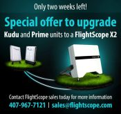 FlightScope promotion, upgrade your Kudu and Prime to an X2