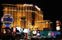 Photo of Planet Hollywood where FlightScope will be exhibiting its launch monitors and other products.