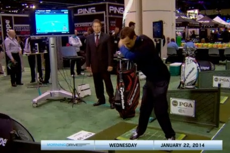 FlightScope CEO Henri Johnson talking about the latest updates on FlightScope launch monitors at the Morning Drive show.