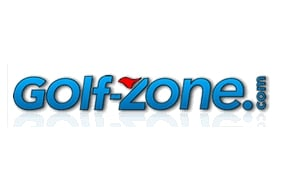 Logo of GolfZone.com which recently did a quick review of the FlightScope Xi launch monitor / golf ball tracker.