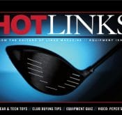 Photo of Hotlinks which featured the FlightScope Xi golf launch monitor on their magazine.