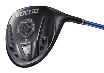 Photo of a Voltio driver that the capabilities of which a FlightScope launch monitor / golf ball tracker helped assessed.