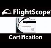 Sample photo of a FlightScope Professional Certification