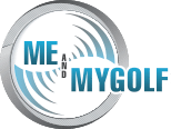 Logo of Me and MyGolf which recently did some challenges with the help of the FlightScope VX2 app.