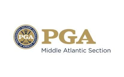 Logo of PGA Middle Atlantic Section for whose teaching summit FlightScope will be doing a presentation.