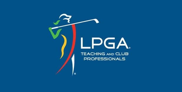 Logo of the LPGA that the National Pro-Am and Conference of which FlightScope will be presenting at.