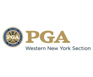 Logo of PGA Western New York Section for whose annual meeting FlightScope will be doing a presentation.