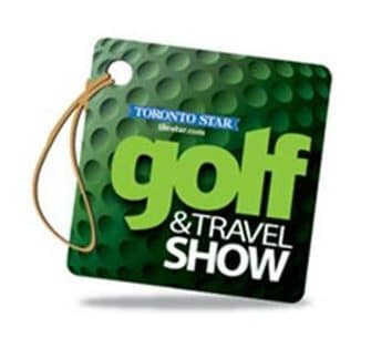 Logo of the Golf and Travel Show where FlightScope will be hosting the 2nd Annual Long Drive Contest.
