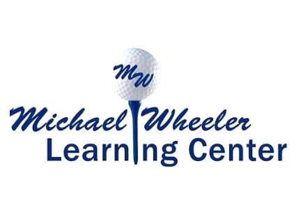 Logo of Michael Wheeler Learning Center which is using a FlightScope launch monitor / golf ball tracker to test a golf myth.