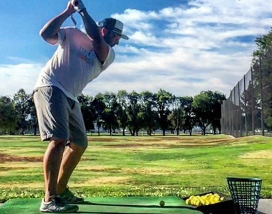 GolfBalled.Com's Co-founder and FlightScope Xi Tour user Corey Kasif.