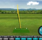 Screenshot showing how to use the FlightScope app to hit your driver longer.