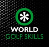 Logo of World Golf Skills where FlightScope used Xi launch monitors / golf ball trackers to track players' performance.