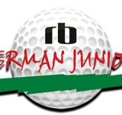 Logo of the RB German Junior event that the 13th edition of which FlightScope helped sponsored.