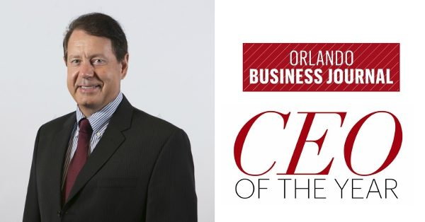 Photo of FlightScope CEO Henri Johnson who was recently honored as CEO of the Year by the Orlando Business Journal.