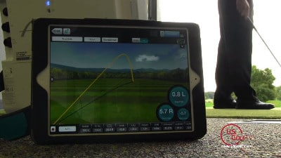 Video of Todd Kolb demonstrating how to use FlightScope launch monitors / golf ball trackers to cut strokes.