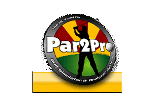 Logo of Par2Pro which interviewed FlightScope about the FlightScop FocusBand, its brain training device that is now integrated with FlightScope apps.