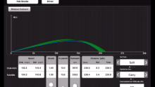 Video demonstrating the Tunable Optimizer Tool feature on the FlightScope VX app.
