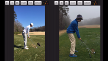 Video demonstrating how to use the Video Comparison feature on the FlightScope VX app.