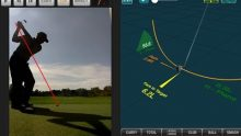 Video demonstrating how FlightScope golf ball trackers can help make teaching golf lessons easier.