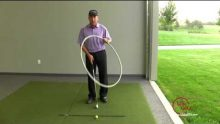 Video of US Golf TV's Todd Kolb showing how to fix a slice with a FlightScope launch monitor.