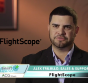 Flightscope Sales Manager Alex Trujillo talks about Flightscope's recognition as a finalist at the 10th Annual SMART Awards.