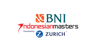 Photo promoting the BNI Indonesian Masters where Flightscope launch monitors will be used